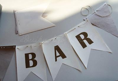 Guirnalda de banderines DiY para tu boda - paso 4-2