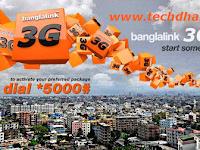 Banglalink Prepaid internet packages (Update)