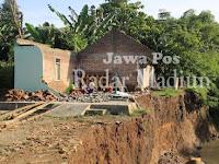 Rumah Sarimun Warga Morosari Akhirnya Ambrol