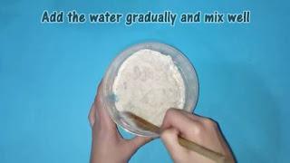Cara Membuat Flour Clay dari Tepung