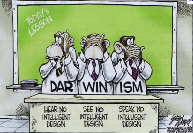 O Darwinismo é a linha de pensamento que confronta a TDI