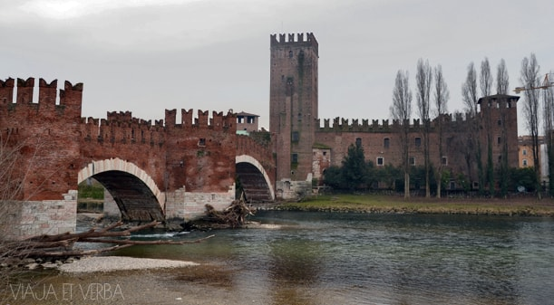 Fortaleza di Verona, Italia. Viaja et verba
