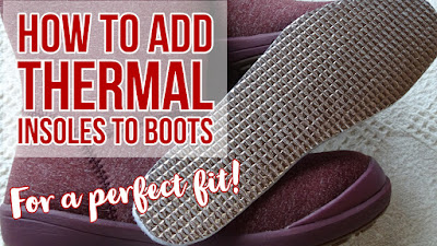 How to make boots warmer