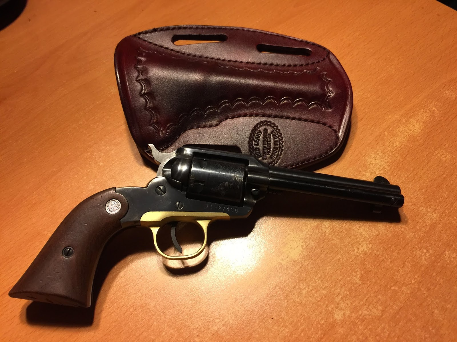 Grips for a Ruger Super Bearcat