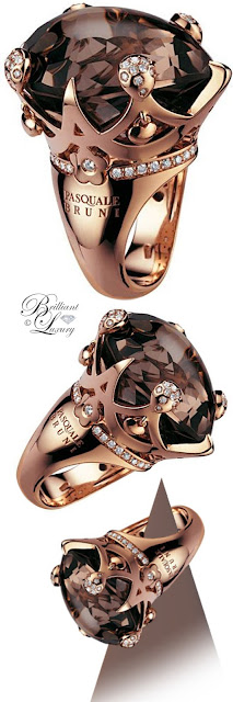 Brilliant Luxury ♦ Pascuale Bruni Sissi Ring With Diamonds