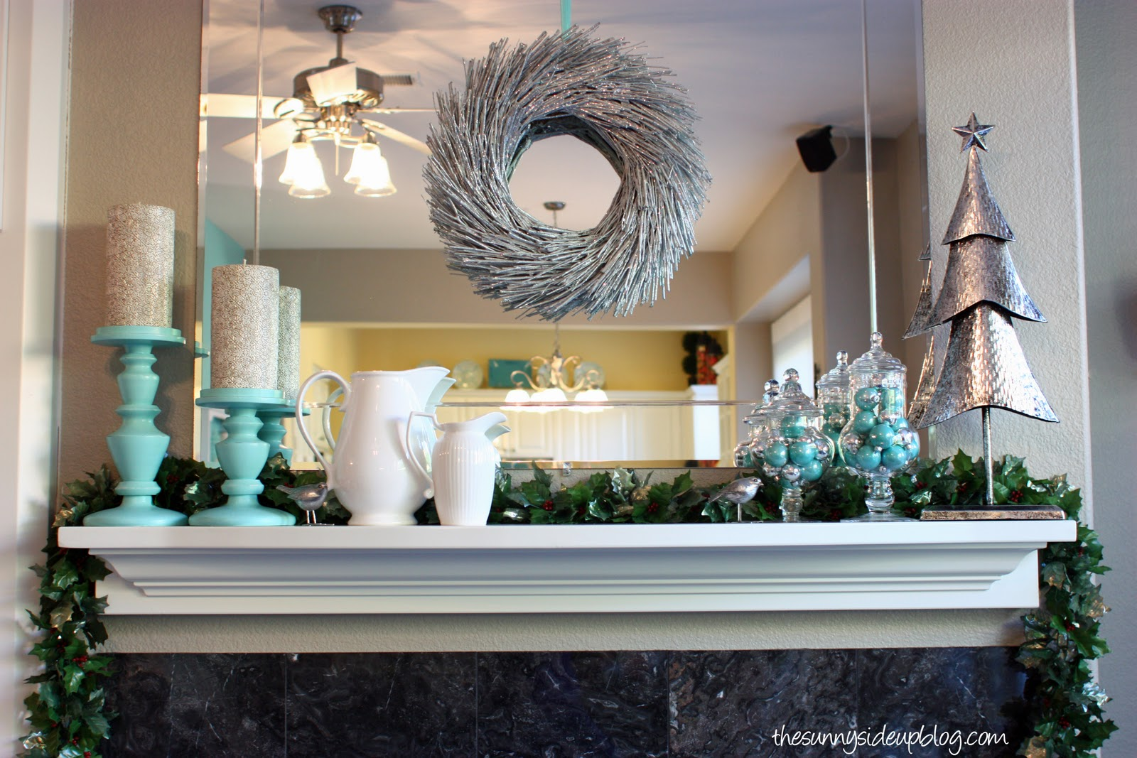 Winter And Valentines Mantel The Sunny Side Up Blog