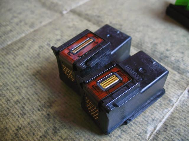 Inyectores de cartuchos de tinta Canon