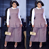 Rita Dominic steps out in style for a Lagos Fashion event
