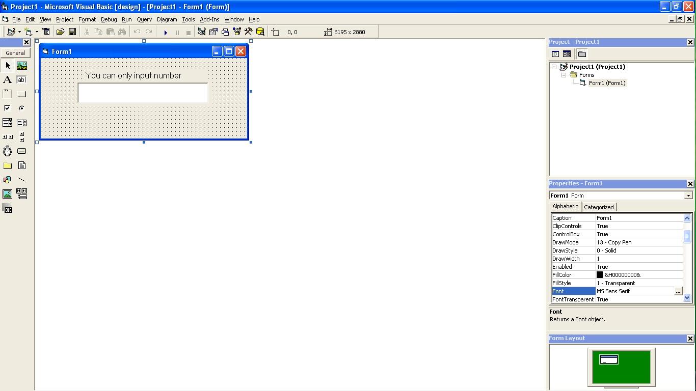 DEVELOPER }: Visual Basic 6 0 Part 8 - Not Isnumeric