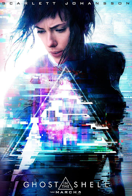 POSTER GHOST IN THE SHELL 2017