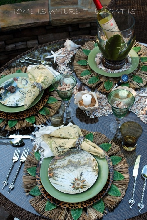 Everything Coastal Thanksgiving Tablescape Ideas For