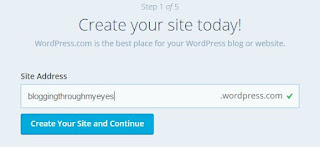 langkah membuat blog di wordpress com nama blog di wordpress