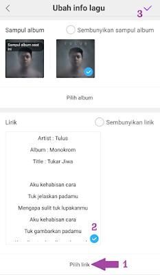 Pemutar Musik hp Xiaomi