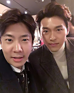 Hyun Bin with yo_tw_on in Life Risking Romance