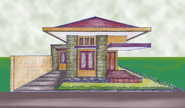 view of house plan A-12