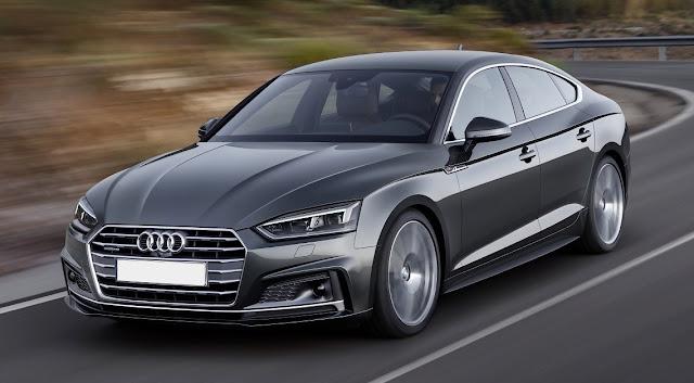 New Audi A5 S5 Sportback
