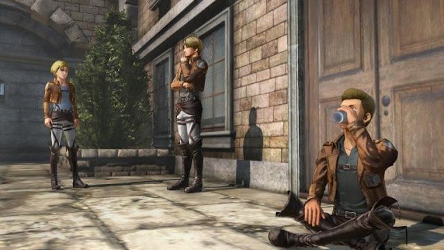 إستعراض باقة ضخمة من الصور للعبة Attack on Titan 2