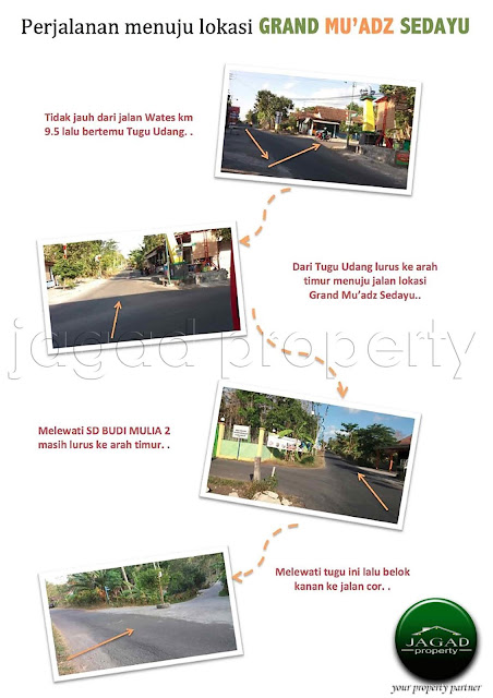 Tanah Kavling Full Fasilitas jalan Wates Km 9,5