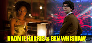 Naomi Harris Ben Whishaw in Skyfall