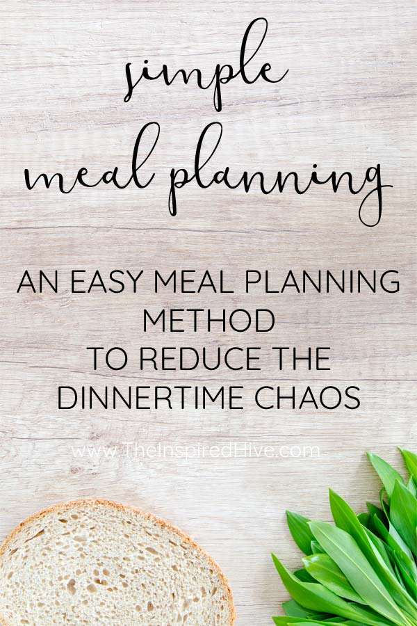 Easy meal planning menu rotation