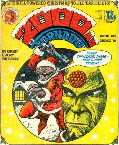 2000 AD Prog 145, Christmas and Tharg