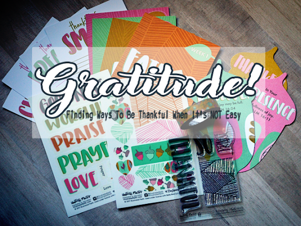 Gratitude: Finding Ways To Be Thankful When It's Not Easy {+ A Look Inside Illustrated Faith's November Devotional Kit} #IF_Gratitude #IllustratedFaith