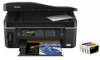 Epson BX600FW Wireless Printer Setup
