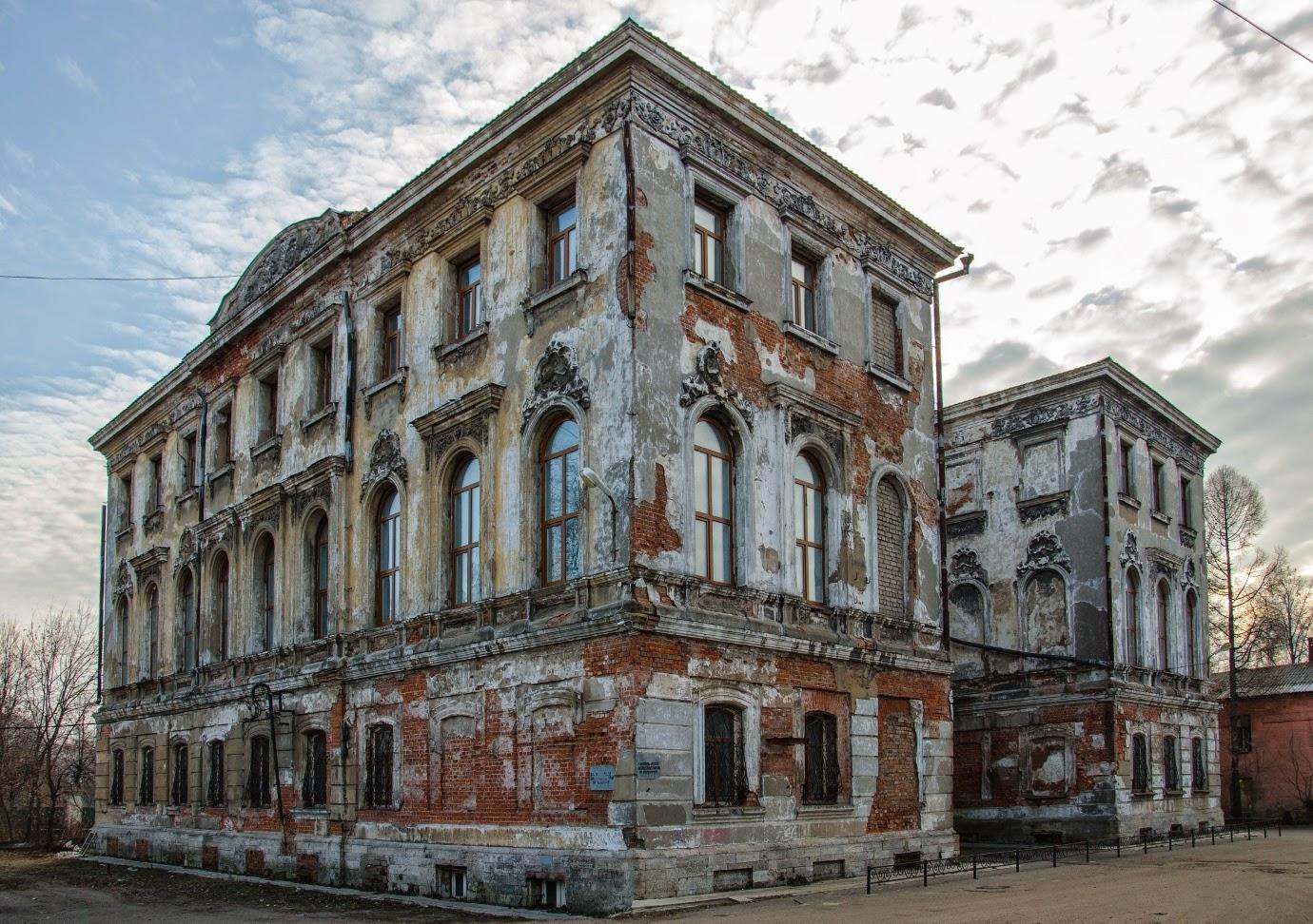Задний фасад усадьбы Зубкова