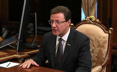 Acting Governor of the Samara Region Dmitry Azarov.