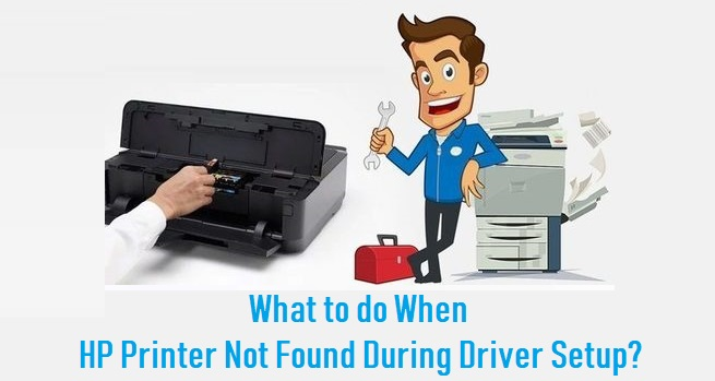 HP Printer Not Found During Driver Setup