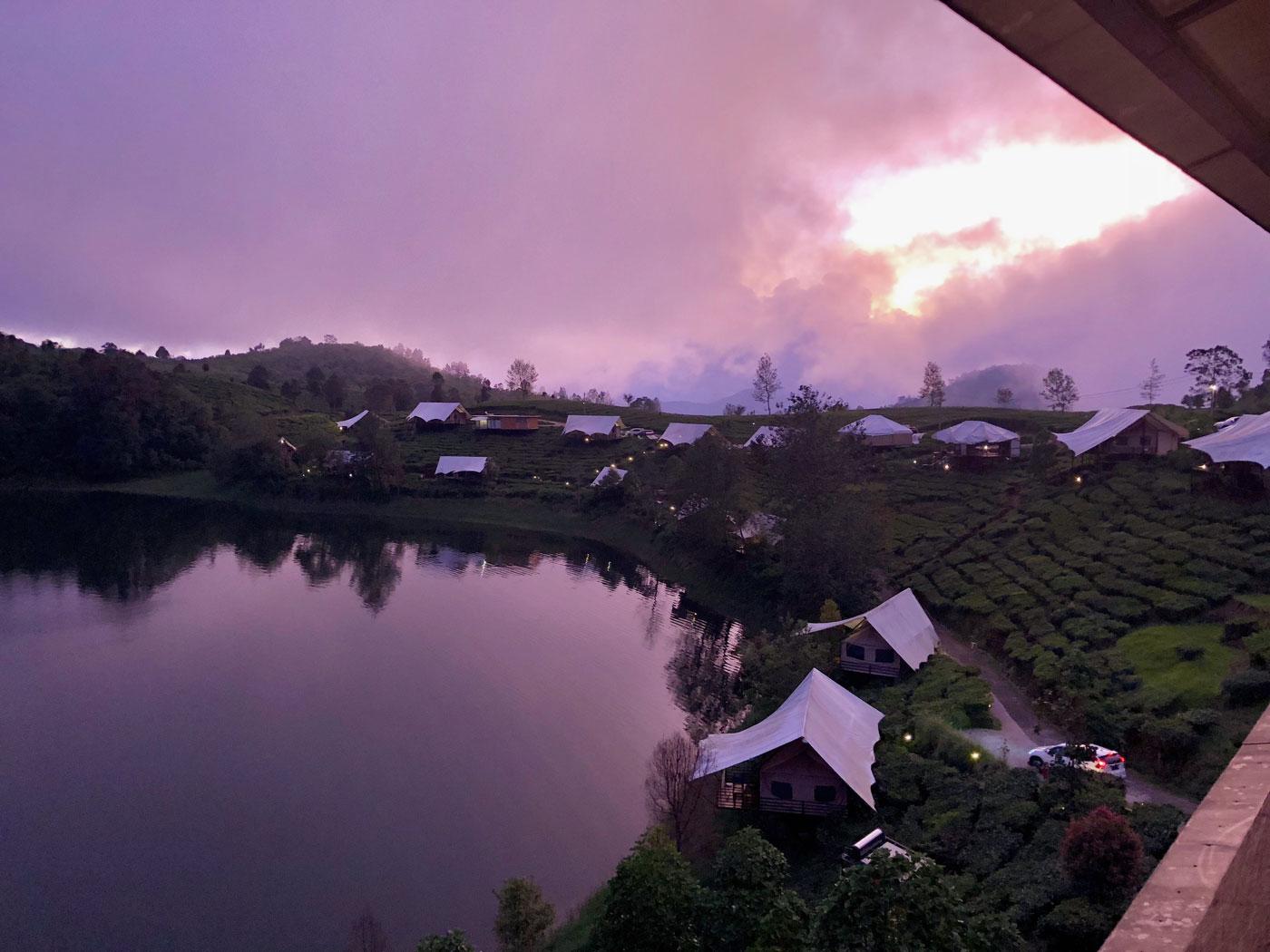 Glamping Lakeside Rancabali, Bandung