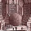 The Library of Babel by Borges but with the words arranged alphabetically