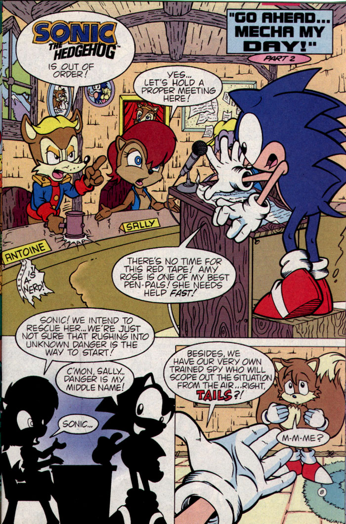 Read online Sonic The Hedgehog comic -  Issue #25 - 9