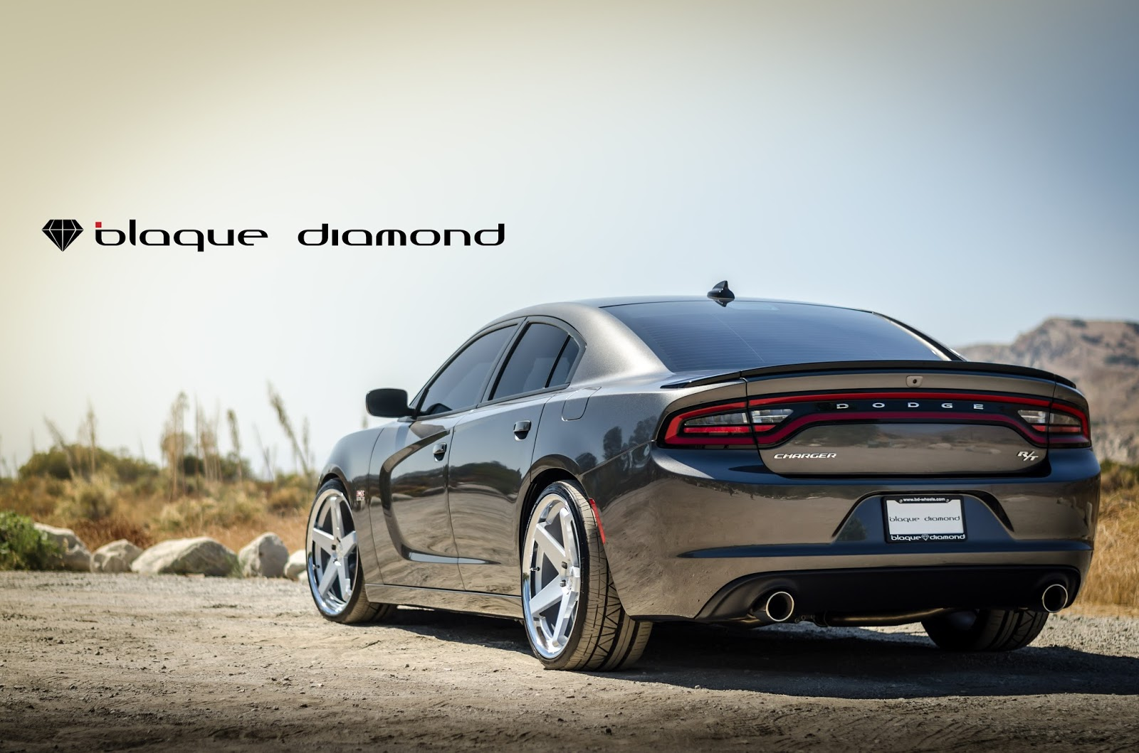 2016 Dodge Charger Fitted With 22 Inch Bd 21 S In Silver W
