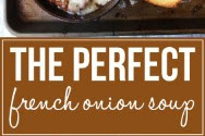 The Perpect French Onion Soup Recipe