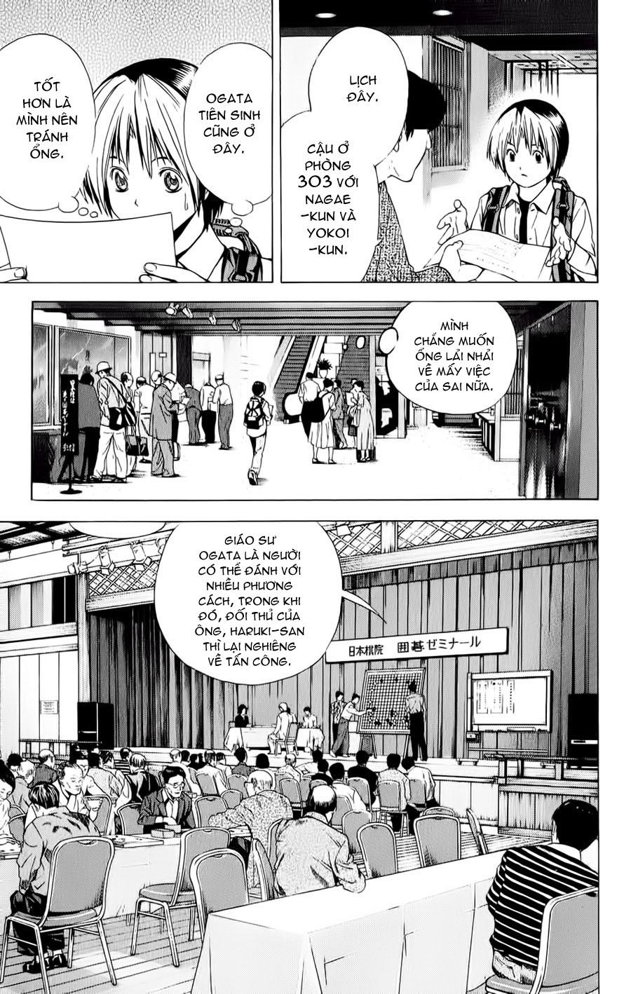 Hikaru No Go hikaru no go chap 123 trang 10
