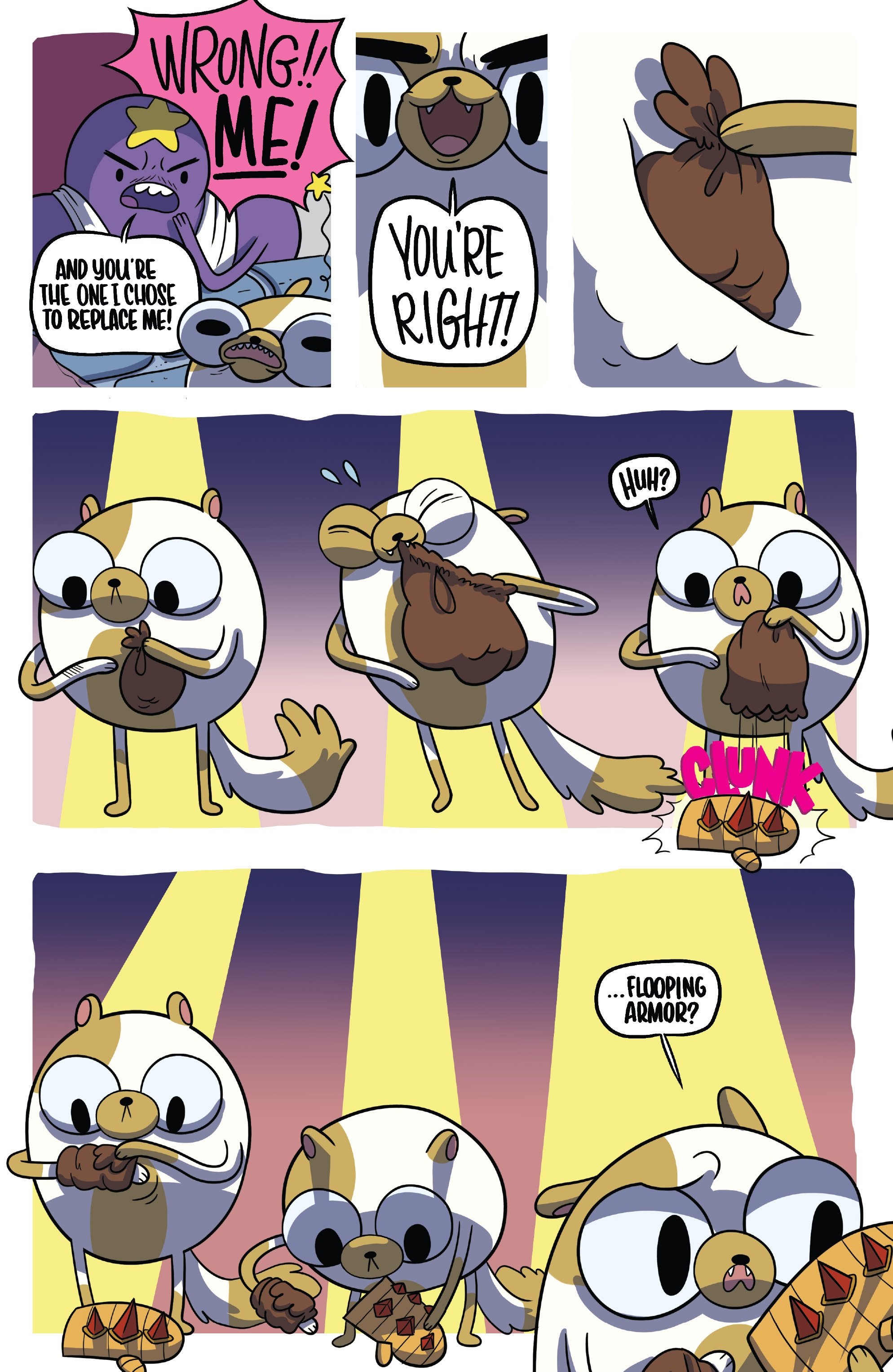 Read online Adventure Time Fionna and Cake Card Wars comic -  Issue #5 - 5