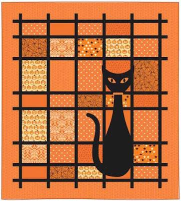 That Cat quilt