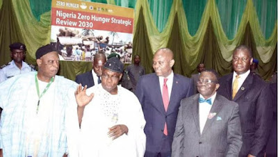 Obasanjo, Buhari Join Forces To Defeat Hunger In Nigeria By 2030
