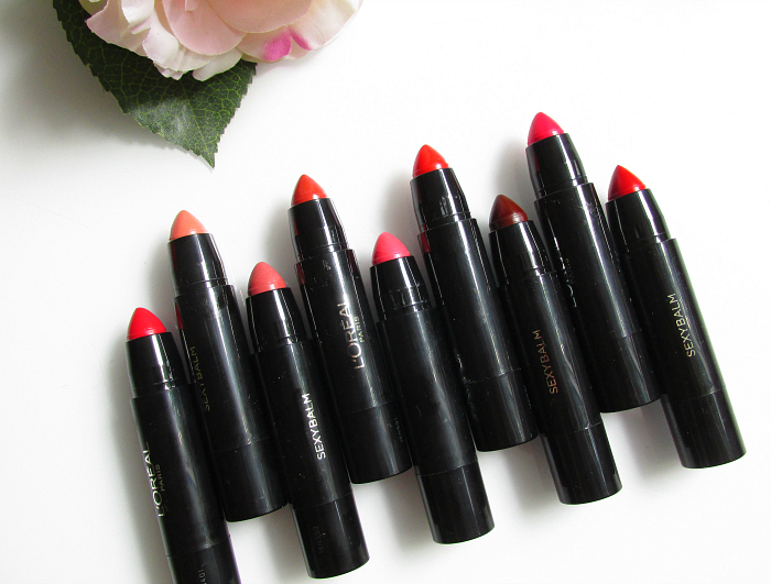 Review, Swatches & Tragebilder:  L´Oréal Indefectible - Sexy Balm Sheer und Bold 9 Nuancen