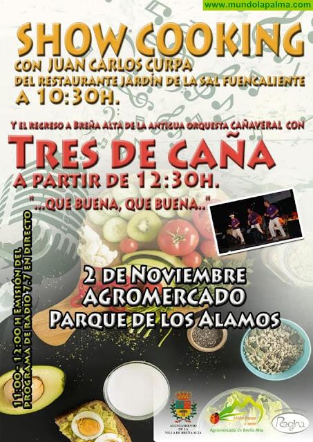 SHOW COOKING en Breña Alta