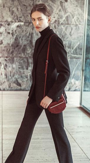 bolso bandolera con flecos Massimo Dutti mujer