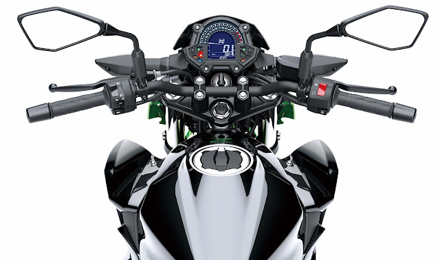 All New Kawasaki Z250 2019 dashboard