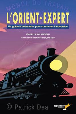Orient, expert, guide, orientation, indécision, psychologie, Isabelle Falardeau