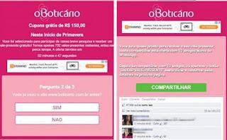 Promoção do Boticário no Whatsapp?