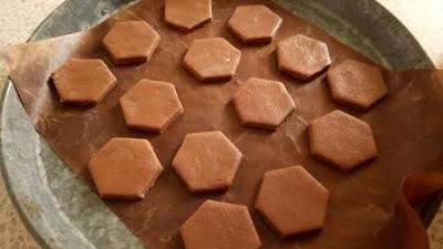 سابلي الشوكولاته روعة Sablés au chocolat