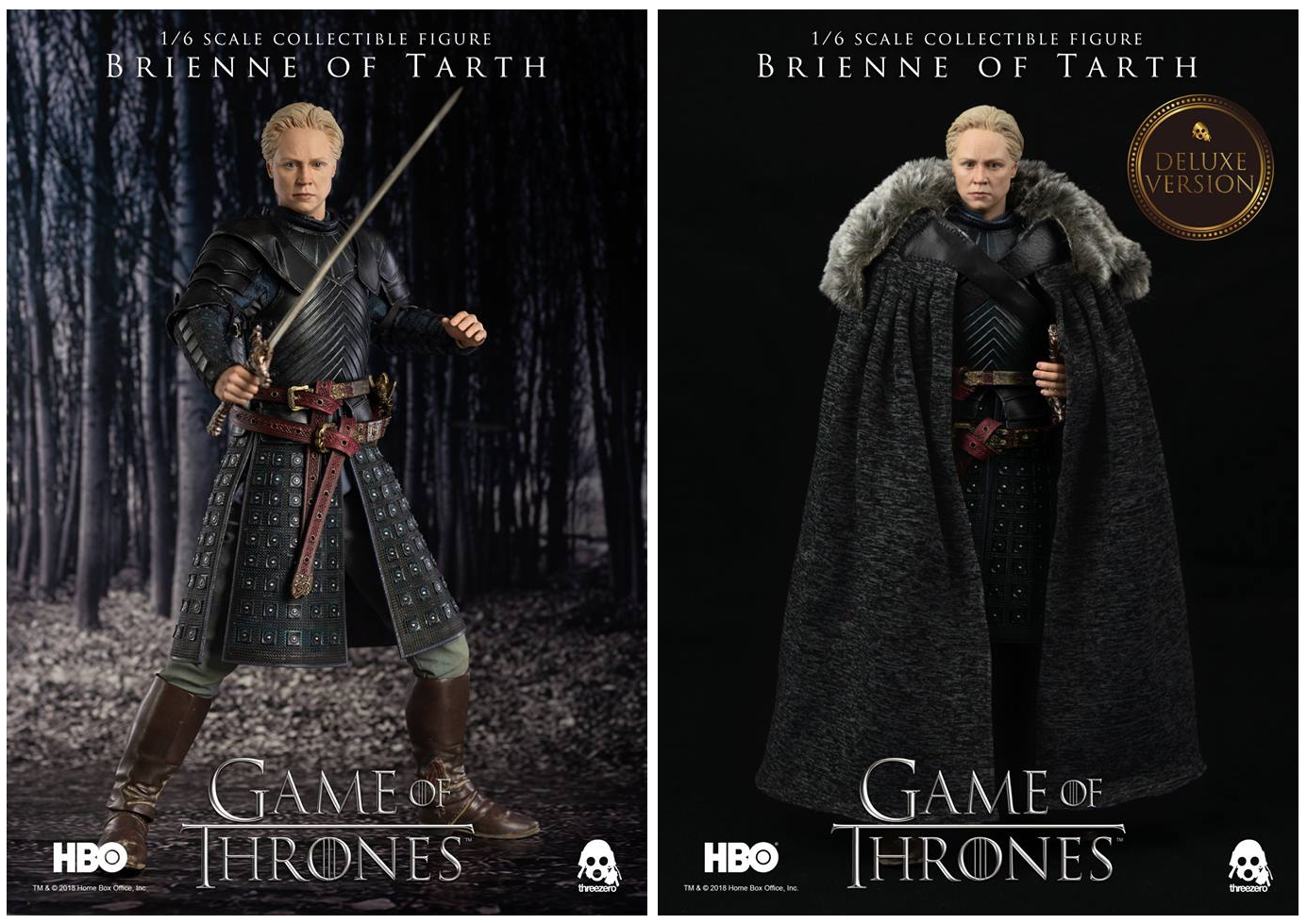 GAME OF THRONES Brienne di tarth Legacy Action Figure
