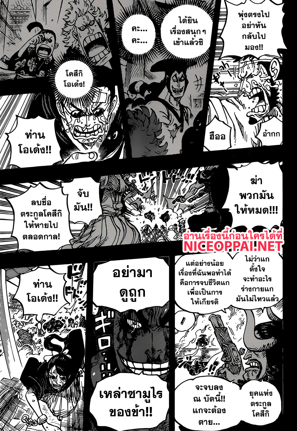 อ่านการ์ตูน One Piece ตอนที่ 927 หน้าที่ 13