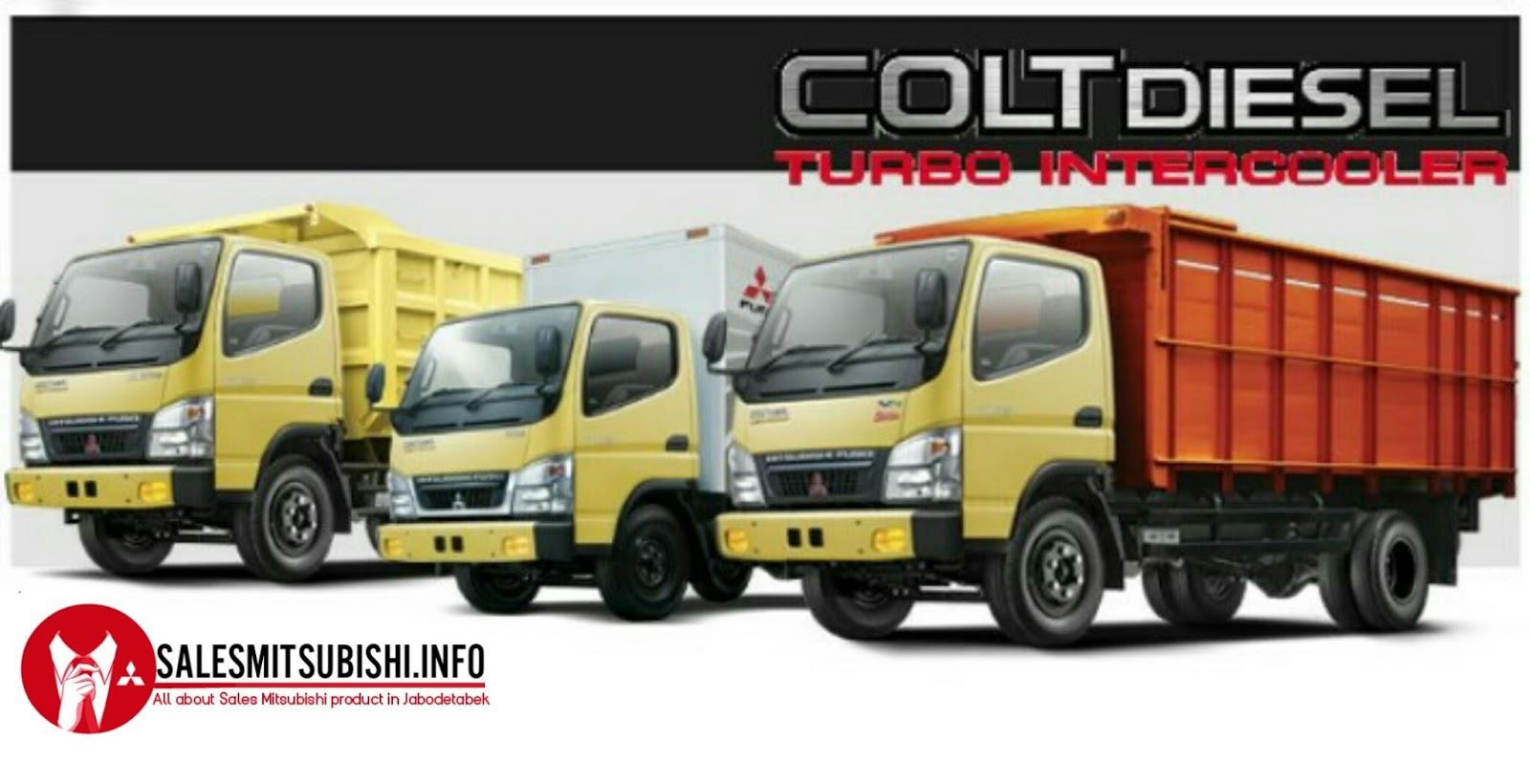 Paket Kredit Mitsubishi Colt Diesel