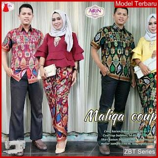 ZBT06309 Kebaya Batik Couple Lonceng Merak For BMGShop